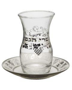 כוס קידוש מזכוכית