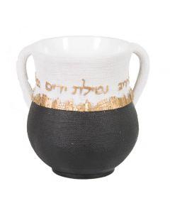 """נטלה מהודרת מפוליריזן ירושלים זהב 14 ס""""מ"""