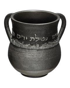 """נטלה מהודרת מפוליריזן ירושלים אפור 14 ס""""מ"""