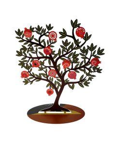 עץ ברכות מעוצב רימונים