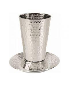 כוס קידוש ניקל עבודת פטיש