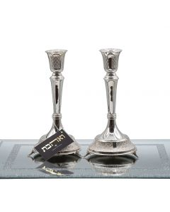 זוג פמוטים רגל יווני מכסף טהור
