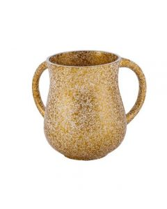 נטלה - דמוי שיש - זהב