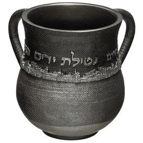 נטלה מהודרת בסגנון ירושלים אלגנט אפור
